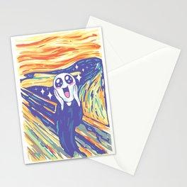 Kawaii Scream Stationery Cards