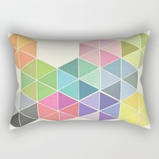 Fragmented Rectangular Pillow
