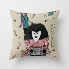 L'Ire d'Irenee Throw Pillow