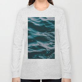 water waves Long Sleeve T-shirt