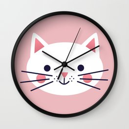 Friendly Cat Wall Clock
