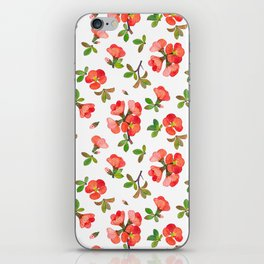 Quince Blossoms iPhone Skin