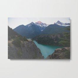 Diablo Lake Sunrise Metal Print