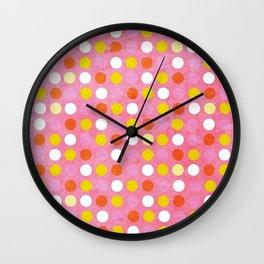 Simply Spots Wall Clock