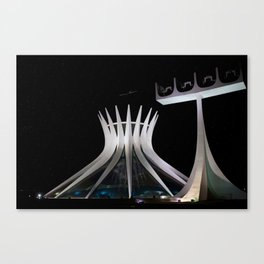 The Cathedral of Brasilia Canvas Print