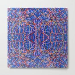Engkanto - Colorful Decorative Abstract Art Pattern Metal Print