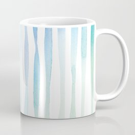 Watercolour Stripes | Spring Palette Coffee Mug