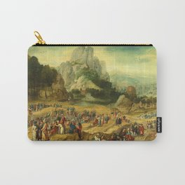 Landscape with Saint John the Baptist Preaching Carry-All Pouch