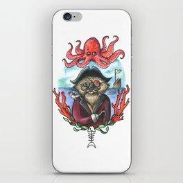 Captain Barnacles The Cat iPhone Skin