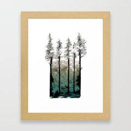 Tennessee Mist Framed Art Print