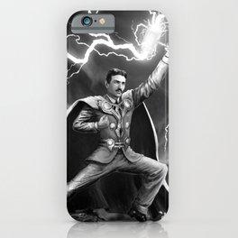 Tesla: God of Thunder iPhone Case