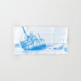 shipwreck aqrewb Hand & Bath Towel
