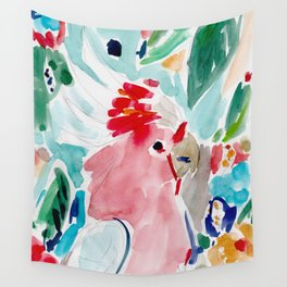 Mitchell the Cockatoo Wall Tapestry