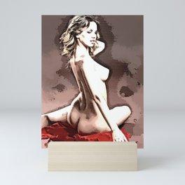Ellie Hatch R Color Sketch Mini Art Print