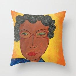 Funky Sista Throw Pillow