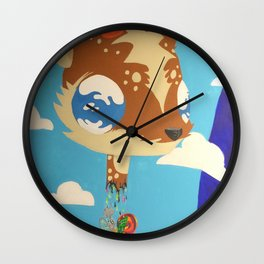 DeerHead Wall Clock