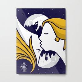 Band Poster Design - 'Reunion' - M83 Metal Print