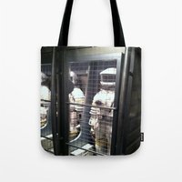 spaceman Tote Bags featuring Spaceman by Brittany Bennett