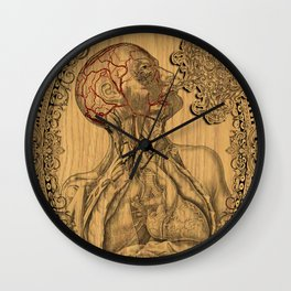 Human Anatomy Wall Clock