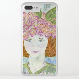 Warrior Spirit Cynthia Clear iPhone Case