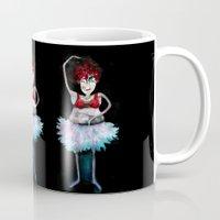 ballerina Mugs featuring Ballerina by clemm