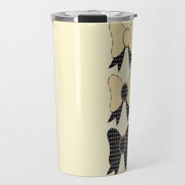 Polka dots bows  Travel Mug