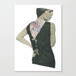 No Walk Over Canvas Print