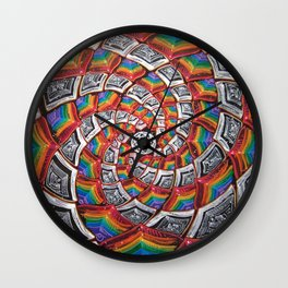 Tunnel To The Moon Wall Clock