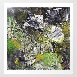 Natural Chaos  Art Print