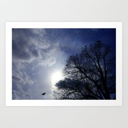 Between Night And Day Art Print