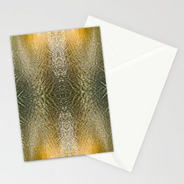 Silver and Gold, Water Colors Stationery Cards