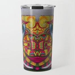 Simetria de un rostro Travel Mug