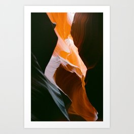 antelope canyon 4 Art Print