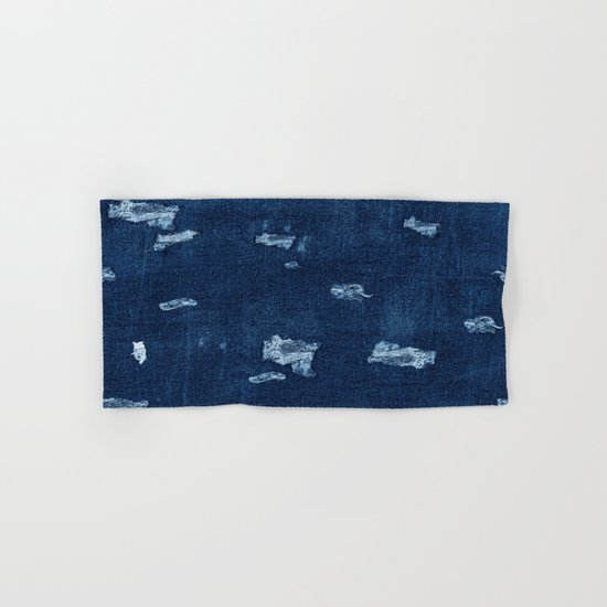 Patched Jeans  Hand & Bath Towel