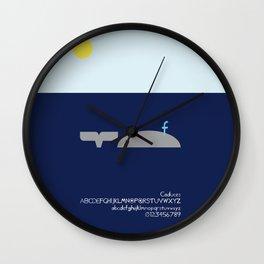 WHALE - FontLove Wall Clock