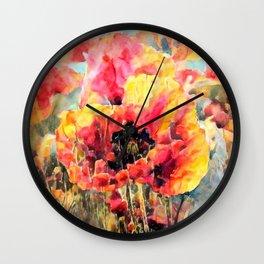 Sunkissed Garden Wall Clock
