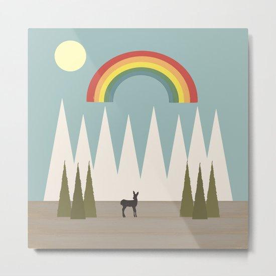 The Rainbow Metal Print