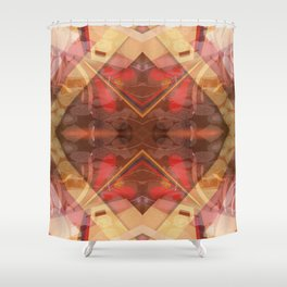 Mandala with Brussels Laces Shower Curtain