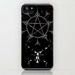 A Tarot of Ink 10 of Pentacles iPhone Case