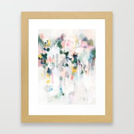 idylle Framed Art Print