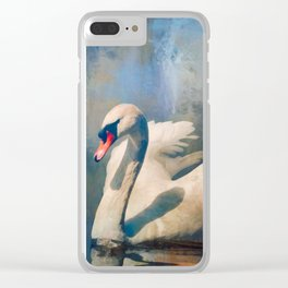 Soft Summer Nights Clear iPhone Case