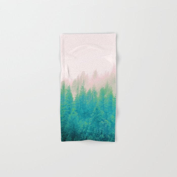 Forest Fog V2 #society6 #decor #buyart Hand & Bath Towel