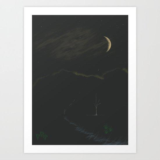 Deep Night Art Print
