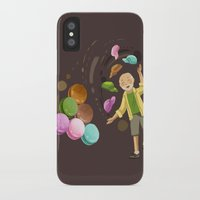 macarons iPhone & iPod Cases featuring Macarons by Lilian Darmono