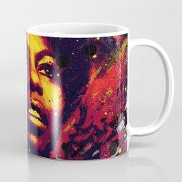 Nina Simone | Pop art | Digital portrait Coffee Mug
