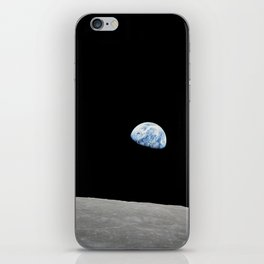 Apollo 8 - Iconic Earthrise Photograph iPhone Skin