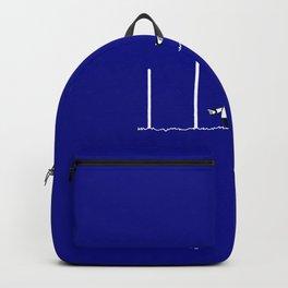 AFL Football Goal Umpire Backpack