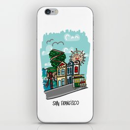 San Francisco, California iPhone Skin