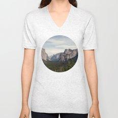 Yosemite Valley Unisex V-Neck