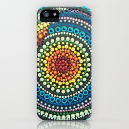 Mursy Hill Wish Board Rainbow Heart Mandala iPhone Case